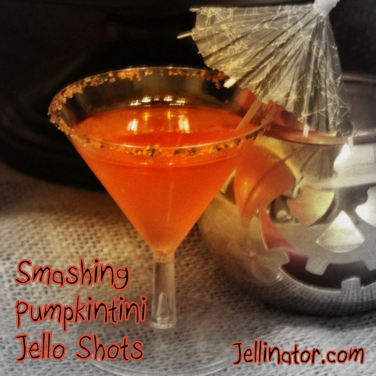 halloween jello shots with tequila