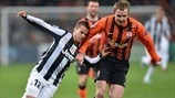 Sebastian Giovinco (Juventus) & Olexandr Kucher (FC Shakhtar Donetsk) | Shakhtar 0-1 Juventus. [05.12.12]