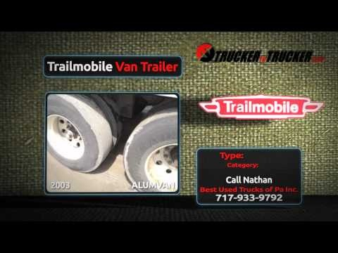 Trailmobile Trailer Sales | http://www.truckertotrucker.com/trucking/trailmobile-trailers.cfm | Shop Trailmobile Trailers for sale by top dealers and owner operators nationwide. Large selection of refrigerated trailers, dry vans, flatbed trailers, combo, reefers, and more. 100's of Trailmobile Trailers online!