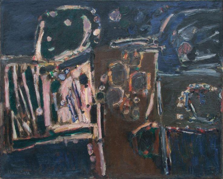 Nr 8, 1960, olej na płótnie, 81 x 100 cm