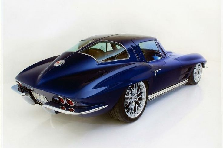 You will ❤ MACHINE Shop Café... ❤ Best of Corvette @ MACHINE ❤ (1963 Chevrolet Corvette Coupé)