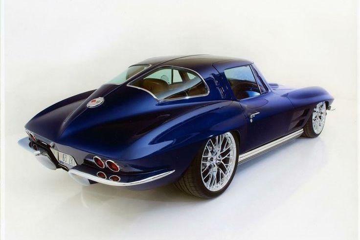 You will ❤ MACHINE Shop Café... ❤ Best of Corvette @ MACHINE ❤ (1963 Chevrolet Corvette Coupé)