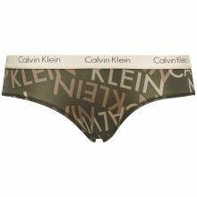 Calvin Klein khaki kalhotky Cheeky - 471 Kč