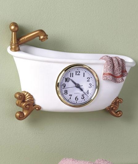 25 best ideas about bathroom clocks on pinterest for Bathroom clock ideas