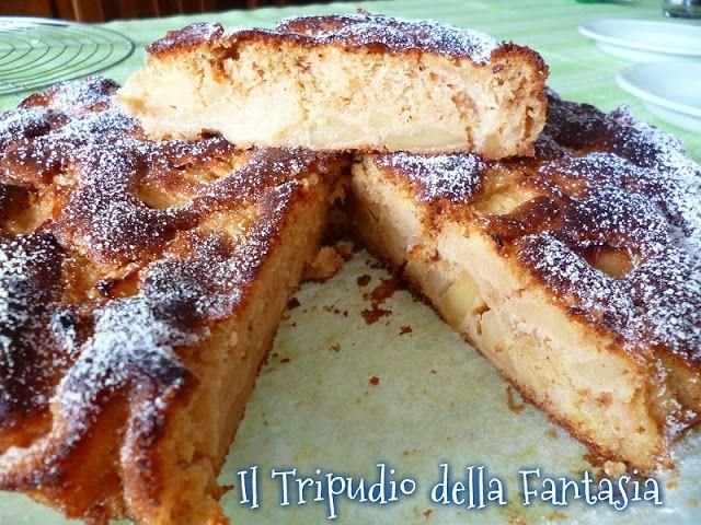 Il Tripudio della Fantasia: Torta alle mele (ricetta di Benedetta Parodi rivisitata)