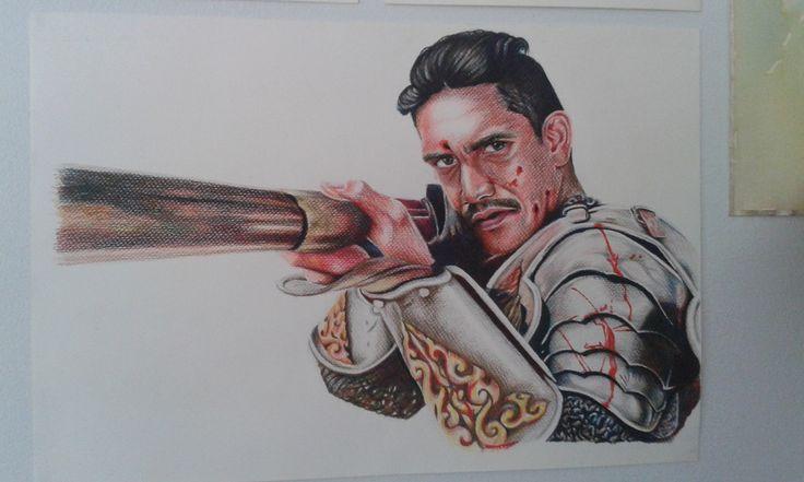 Drawing pencil_King Naresuan