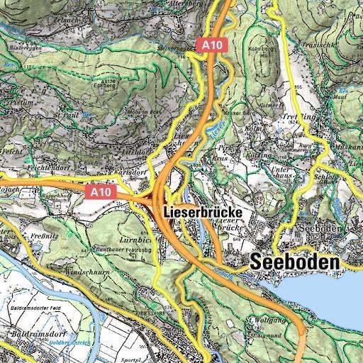BERGFEX: Touren Millstätter See -  Millstätter See