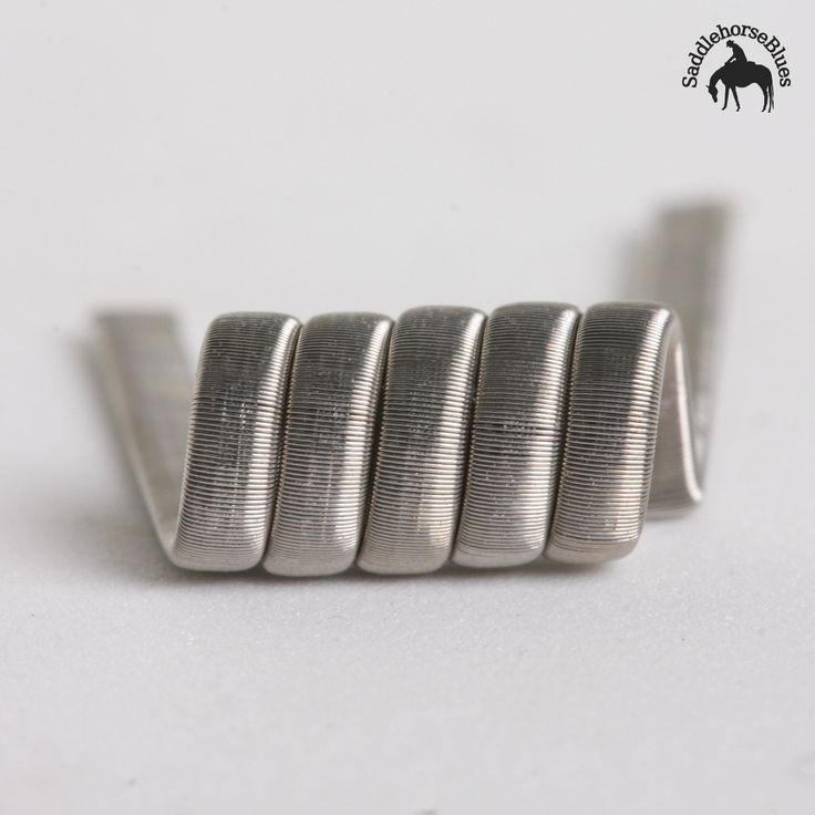 An original design from Squidoode, if clouds are what you're after you won't want to miss out on these. Like the Staggered, these are a really solid coil and with a bit of basic maintenance a set will last you. These are a low Ohm coil, suited to the serious vaper, and are recommended as a single coil build. Did someone say cloud comp?
