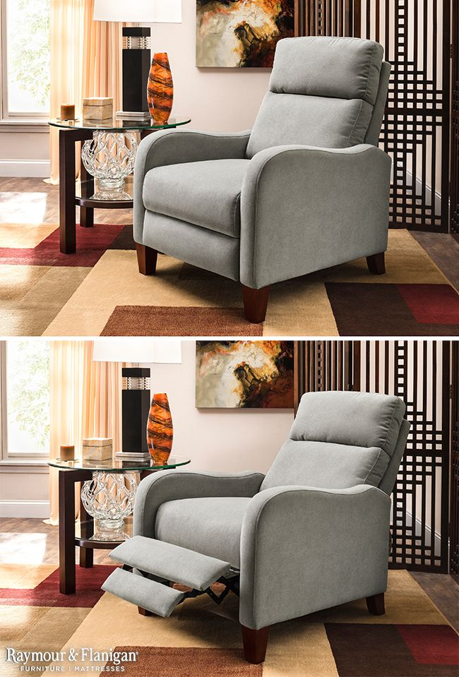 Small space? No problem! Usually recliners are big and bulky, but this new arrival is a perfect size for any space! This recliner also comes in brown.