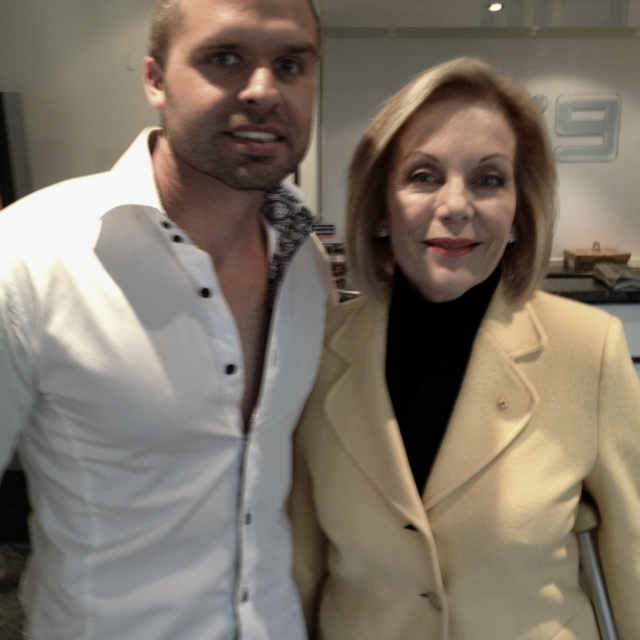Ita Buttrose and myself..