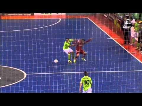 Final Copa España 2014 Division honor futbol sala Inter Movistar vs Pozo Murcia - YouTube