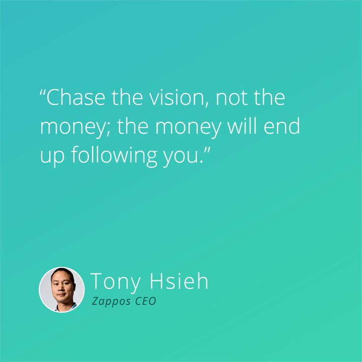The vision is the most important thing of your product, company or idea. Without a vision you are nowhere. #vision #passion #startups