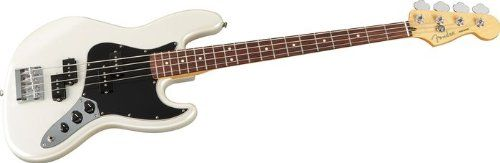 Fender Blacktop Jazz Bass®, White Chrome Pearl, Rosewood Fretboard - http://www.learntab.com/guitar-deals/fender-blacktop-jazz-bass-white-chrome-pearl-rosewood-fretboard/