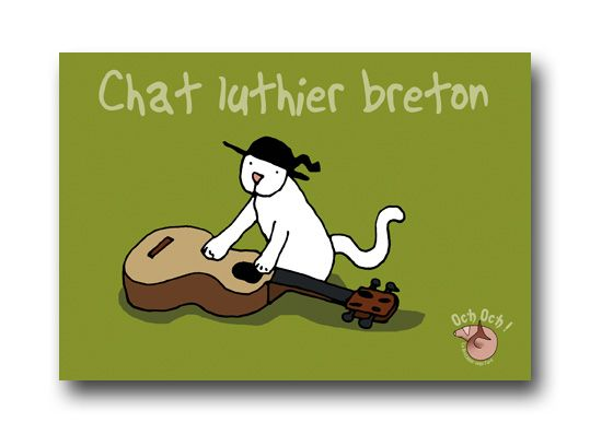 Chat luthier
