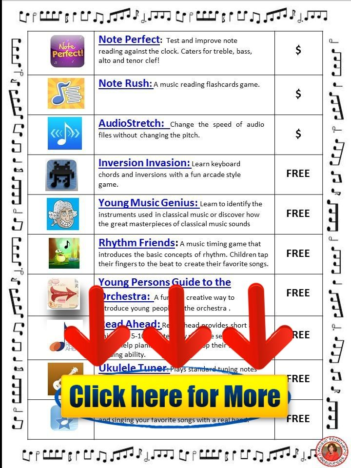Music Education Apps #android #iphone #ios #app #free