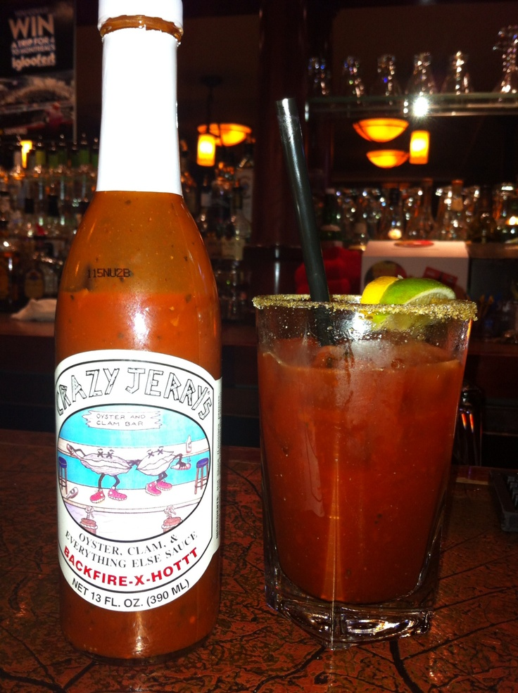 Crazy Jerry's .... Best Bloody Caesar ever!