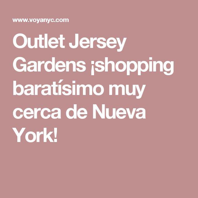 Outlet Jersey Gardens ¡shopping baratísimo muy cerca de Nueva York!