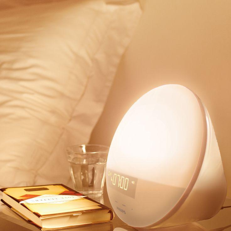#reveil #luminotherapie #lampephilips #lampereveil #lampedechevet #luminairedechambre