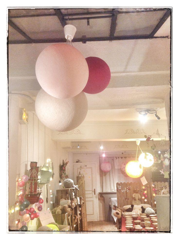 17 best images about les jolies choses la boutique on for Luminaire la case du cousin paul