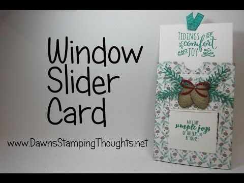 Twist Gate Fold by Dawn Olchefske Put a twist on a classic gate fold card. For step by step still pictures, supply list and measurements as well as more tuto...