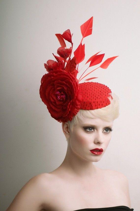 Pretty red hat