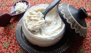 Scrub corps hammam purée exfoliante argan karité et citron