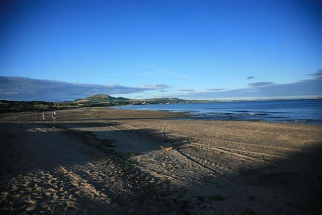 Carnoustie beach Angus Scotland