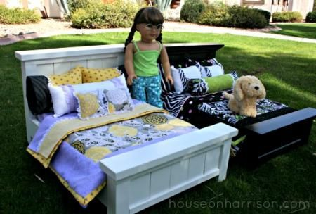 American Girl Doll Beds | Do It Yourself Home Projects from Ana White