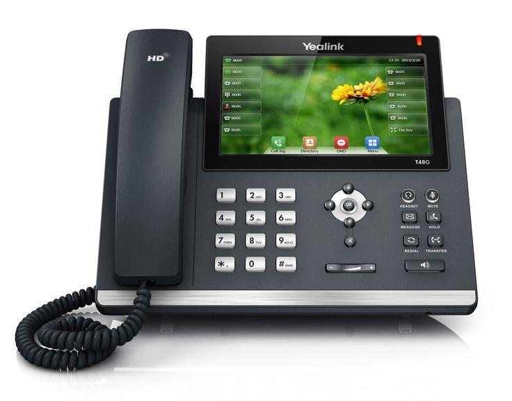 Hosted PBX handset yealink T48g