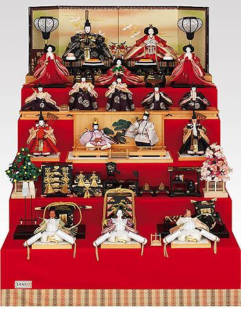 """Hinamatsuri (Doll's Festival)"" is held on March 3rd. This is a day to pray for young girl's growth and happiness. It is also called ""Momo no sekku (Peach Festival)"" because of the peach blossom season on the old lunar calendar."