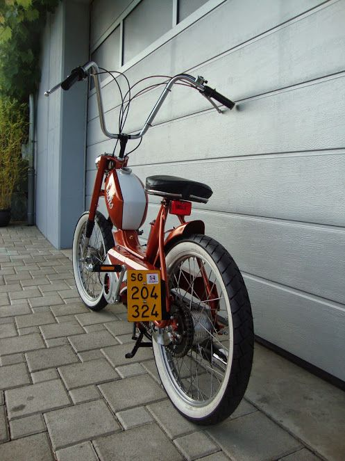 Sachs 503 Gtx bobber orange metallic   Mopeds   Pinterest ...  Sachs 503 Gtx b...