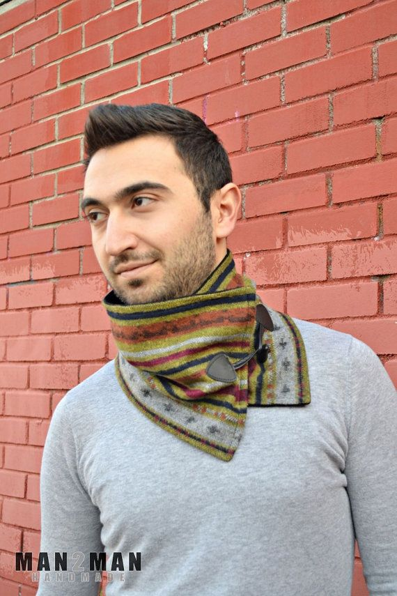 Amazing Multicolor Soft Unique Handmade Scarf Neckwarmer - For Him / For Her / Perfect Gift