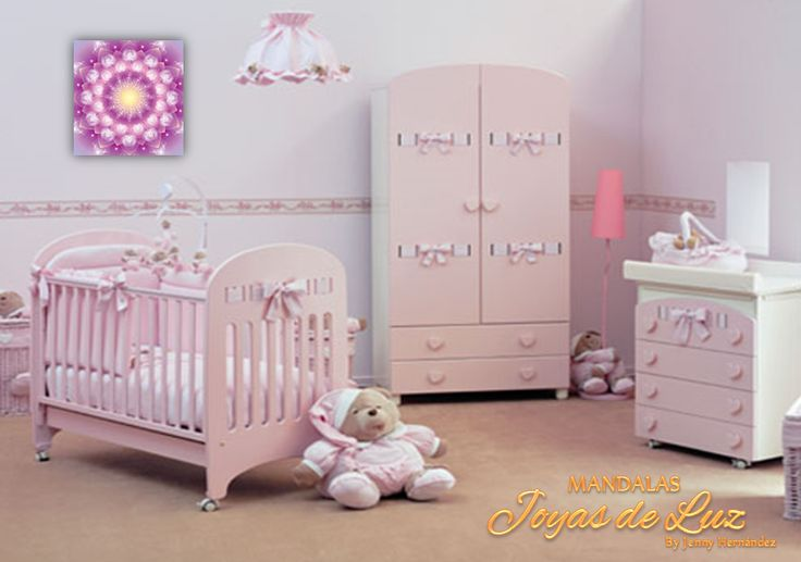 Mandala para habitación de bebe