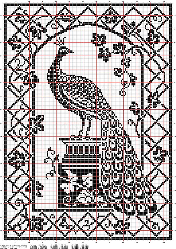 My favorite filet crochet patterns