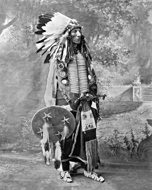 Native American Indian CHIEF TURNING BEAR Sioux Tribe