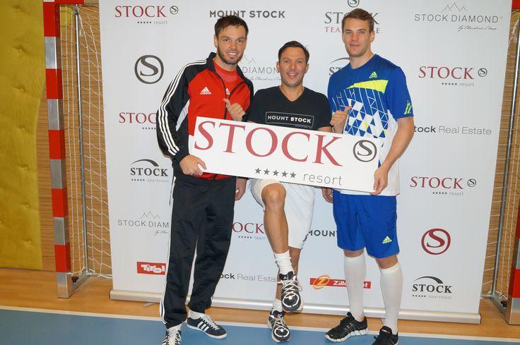 Manuel Neuer, Dennis Diekmeier und Daniel Stock