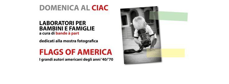 Laboratori per bambini e famiglie, dedicati alla mostra fotografica FLAGS OF AMERICA