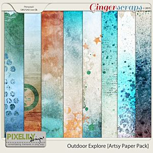 Outdoor Explore [Artsy Paper Pack]