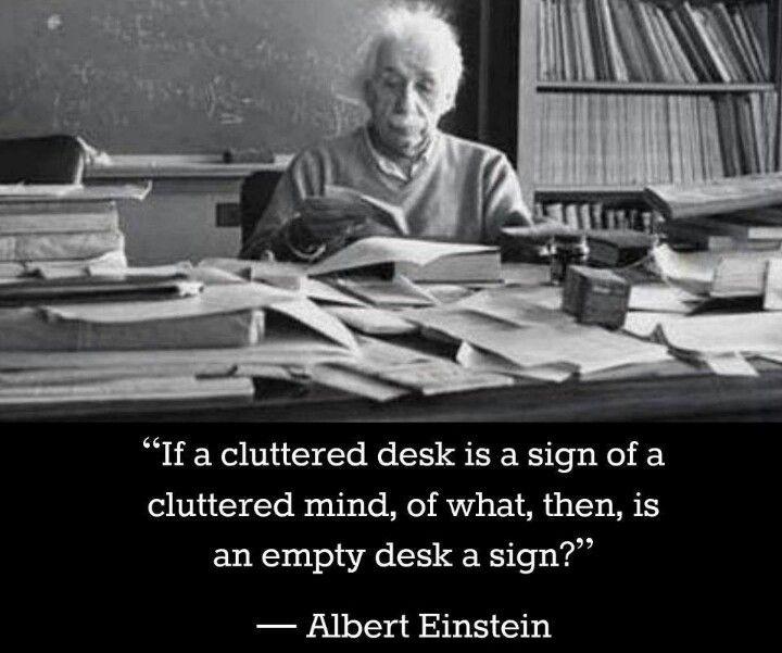 Reasoning My Messy Desk