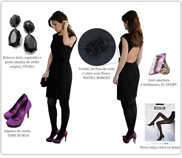 vestido preto casamento convidada - Pesquisa Google