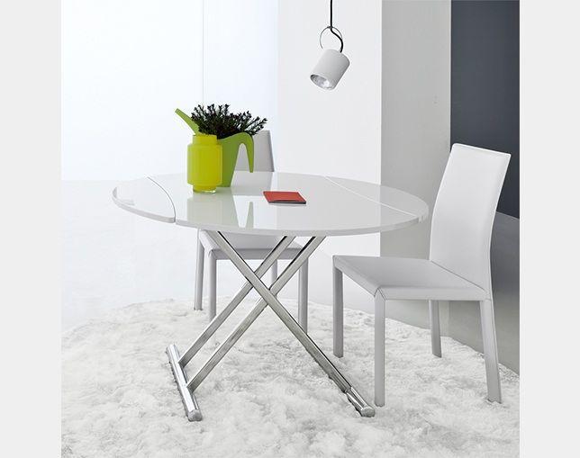 SIMPLE round lift table(シンプルラウンドリフトテーブル)【COM.P.AR / コンパル】の情報はリクルートが運営する家具サイト【タブルーム】でチェック!
