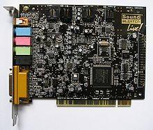 zvuková karta počítače