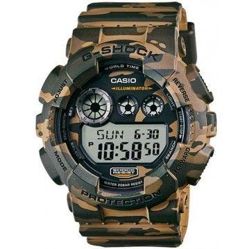 http://www.newtrendclothing.com/category/g-shock/ Montre Casio G-Shock Camo Kaki