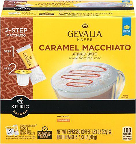 how to make a caramel macchiato with a nespresso machine