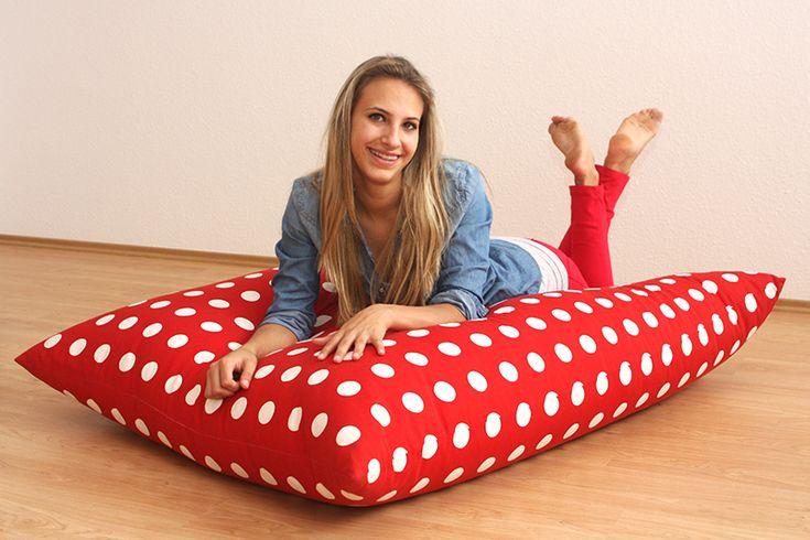 Pöttyös babzsák fotel :)   #babzsák #design #beanbag