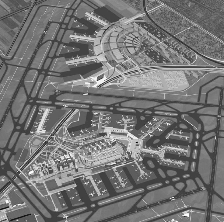 Amsterdam Schiphol Airport expansion plans of a