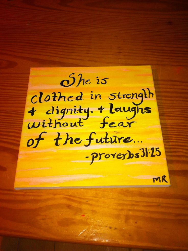 Proverbs painting
