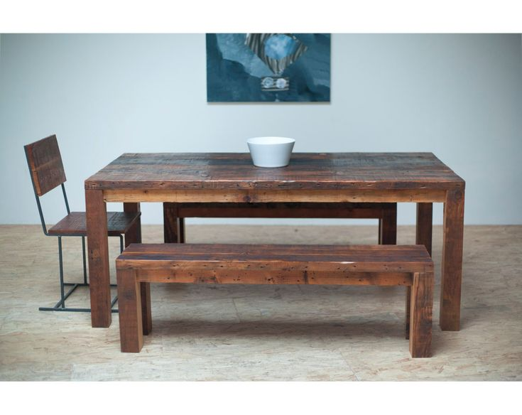 Beautiful Modern Dining Table/ Reclaimed Wood by Blakeavenue, $1,575.00