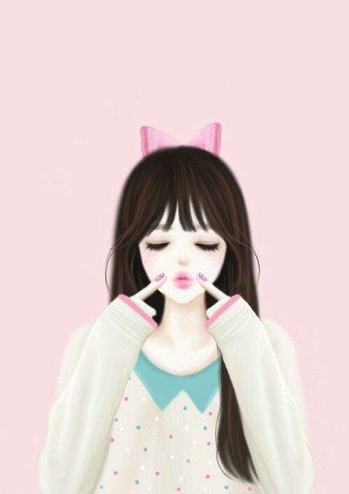 Korean anime enakei pinterest manga kid and cute cute - Gambar anime girl cute ...