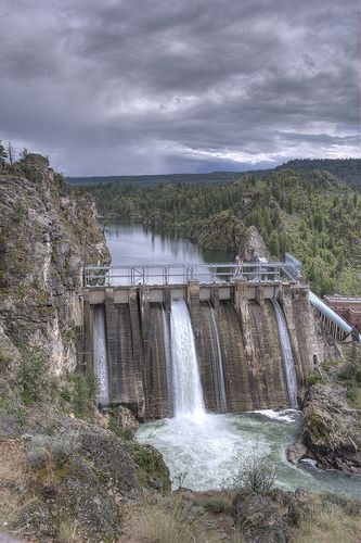 Long Lake Dam Spokane Washington